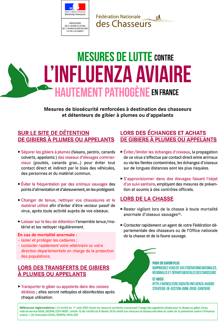 grippe aviaire prevention